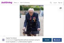 Ninety-nine-year-old war veteran raises millions for NHS Charities Together