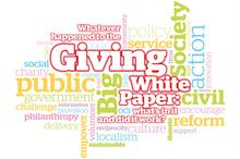 Philanthropy: Whatever happened to the Giving White Paper?