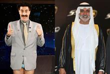 Top & Flop of the Week: Borat's Giuliani 'sting' and Hay Festival's UAE misstep
