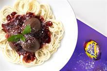 Cadbury serves up Creme Egg meatballs and spaghetti on live stream