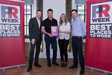 PRWeek UK Best Places to Work Awards 2019 opens for entries