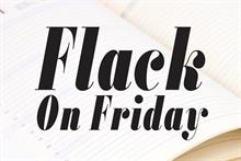Flack on Friday: Star Trek tie-in, corking lesson, re-Unity?