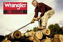 Rugged Favre quarterbacks new Wrangler ad campaign