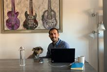 Around the home office with Luis Carlos Rabago Basset