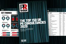 Read PRWeek's Executive Summary of the Top 150 UK Consultancies Report 2020