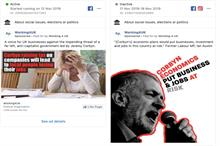 Who's behind the obscure groups funding election attack campaigns on Facebook?