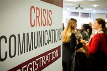 HSBC, Gatwick, YouTube, O2: expert speakers confirmed for PRWeek Crisis Comms conference