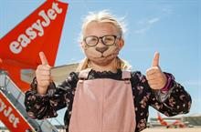 Watch: easyJet launches comic book-inspired facemask covers