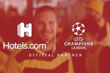 Hotels.com takes Champions League football to the beach (in London)