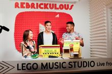 How Lego used VidCon to drive awareness to its YouTube show Rebrickulous