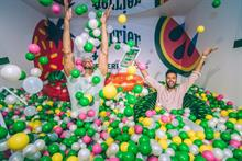 Perrier inspires the senses with interactive pop-up