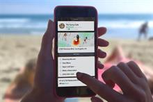 Brands can embed more info into Snapchat with Context Cards
