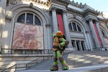 Why a Teenage Mutant Ninja Turtle visited the Met's Michelangelo exhibit