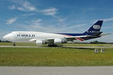 World Airways books Zapwater for relaunch