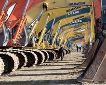 Weak pound fuels machinery sales
