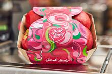 Pink Lady apples plastic free with Iceland and naming competition with Aldi + Nim's Fruit Crisps launched