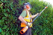Stihl HLA 85 telescopic hedge trimmer