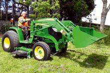 John Deere 3045R utility tractor