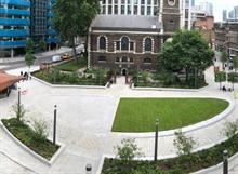 Completion of £23m public realm project in City of London