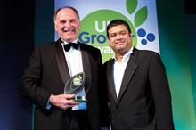 Specialist Fruit Grower of the Year - Winner GuardTop for TickleBerries aronia berry enterprise