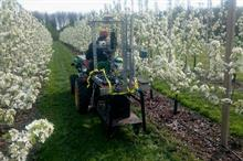 How can smart orchard management be driven forward?