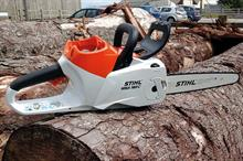 Stihl MSA 160 C-BQ and MSA 200 C-BQ cordless chainsaws