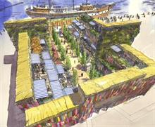 Diarmuid Gavin plans giant shipping container garden for Gateshead