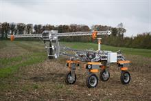 "UK prototype robot can spot and ""zap"" all weeds in a field"