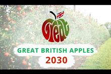 How can British apples achieve 60% market share target?