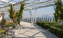 "City of London rooftop garden ""exemplar"" of future development in Square Mile"