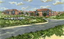 Green corridors and active travel part of approved first phase of Grove Farm housing development