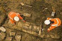 Archaeologists begin excavation of burial ground along HS2 route