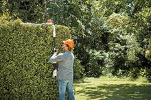 How are hedge trimmers being enhanced?