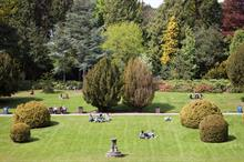 Scotland, The Lawn and Central Woodlands, Heriot-Watt University
