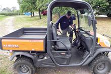 Kubota RTV-X900 utility vehicle