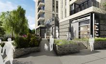 Five-strand landscape strategy for new housing development Mitre Yard