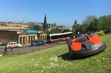 What can other parks services learn from Edinburgh's robotic mower trials?