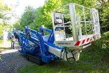 New platforms specially equipped for arb work