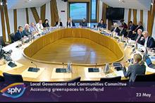 Will Scottish Parliament evidence session help green spaces?