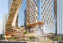 Grant Associates part of winning design team for 'Green Spine' skyscrapers