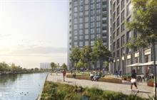 Parks, new public realm and biodiverse landscape help 785-home scheme get through planning