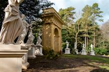 Nine Muses reinstated at Buckinghamshire's Stowe gardens