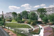 Work due to start on LDA Design's Union Terrace Gardens refresh
