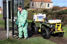 Vale Engineering unveils PKL450 all-terrain weed spraying vehicle