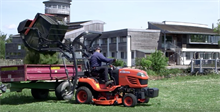 Conservation and habitat management at WWT Wetlands Slimbridge with Kubota: video