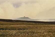 Ground Control helps emergency response to Winter Hill moorlands wildfire