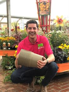Two garden centres persuade recycling cpmpany to accept plastic plant pots