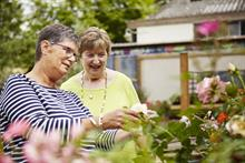 Titchmarsh and garden centres work to help create dementia-friendly spaces