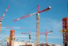 Construction output rose in January but three-month view shows a decline