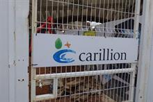 Bad start to 2018 for construction after Carillion collapse and Beast from the East predicted to continue